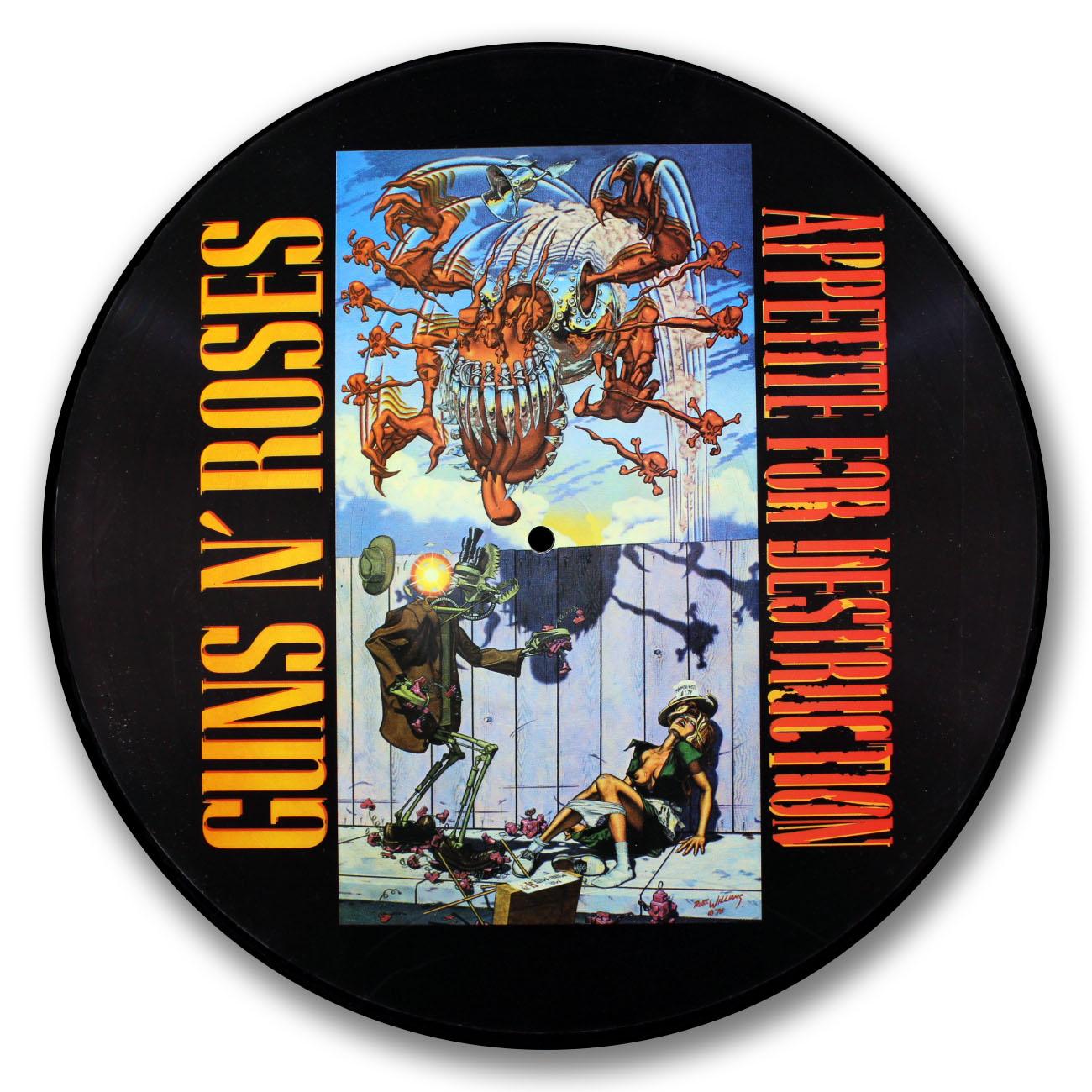 Guns N Roses, Appetite for Destruction Picture Disc