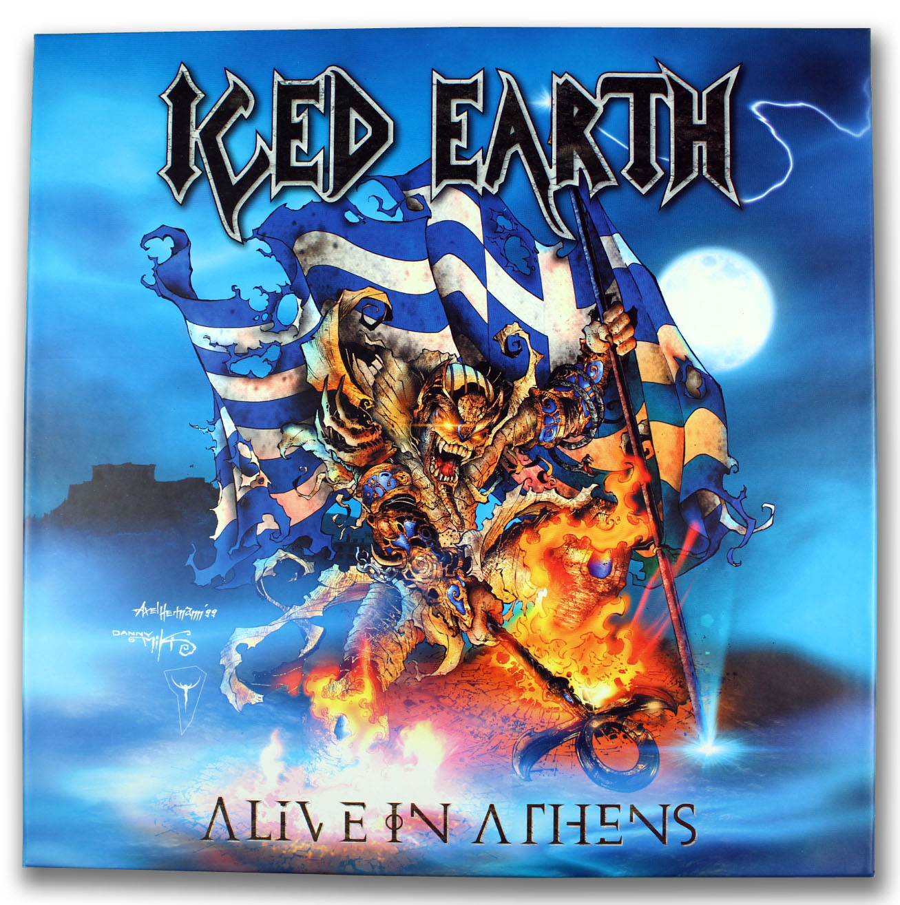Iced Earth, Alive in Athens Picture Discs