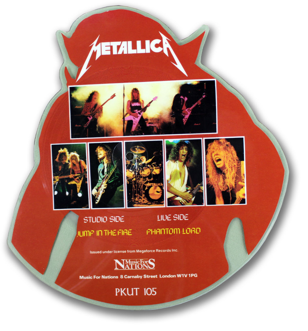 Metallica, Jump in the Fire Picture Disc