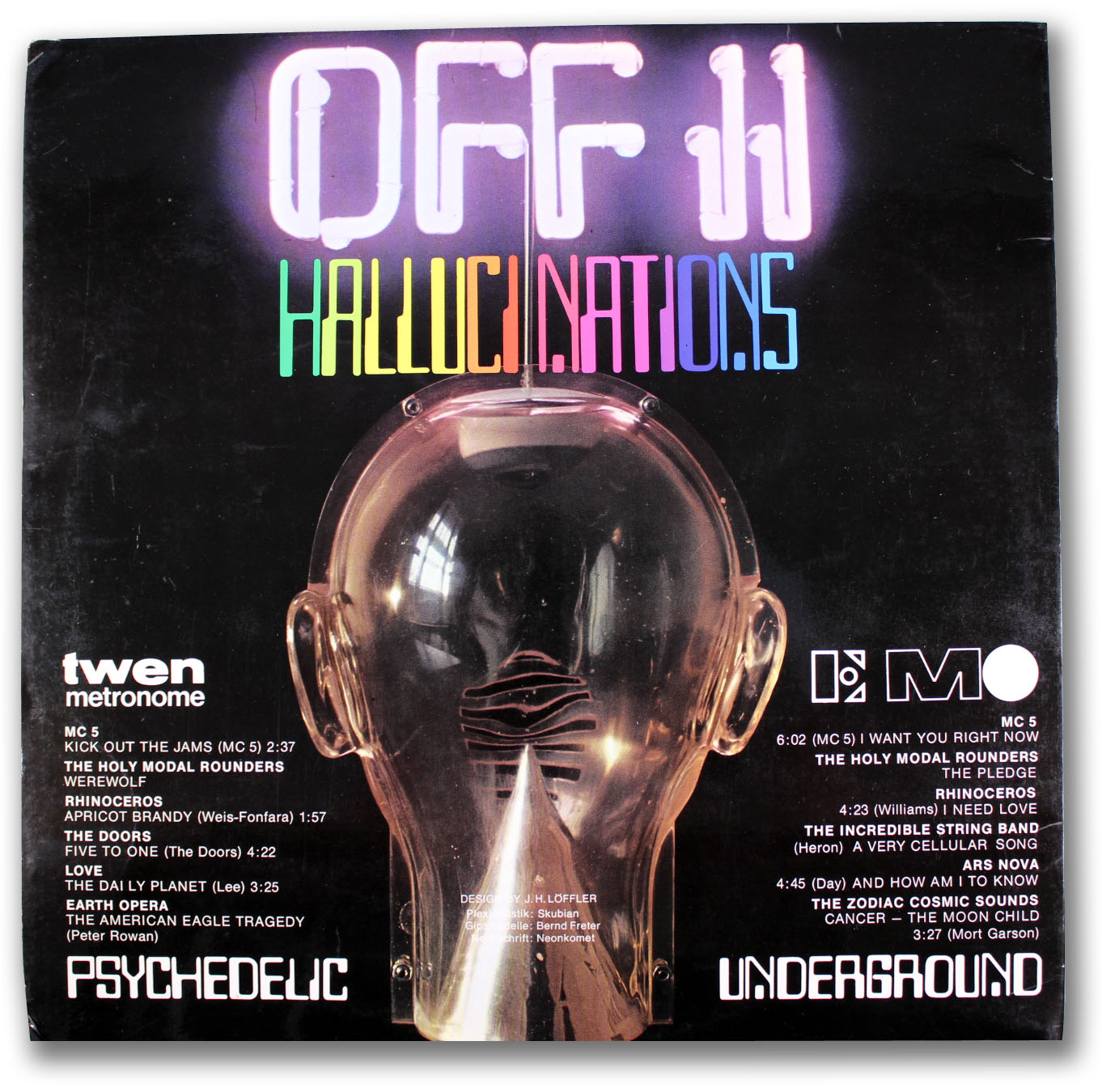 Psychedelic Underground - Off - 2 - Picture Disc