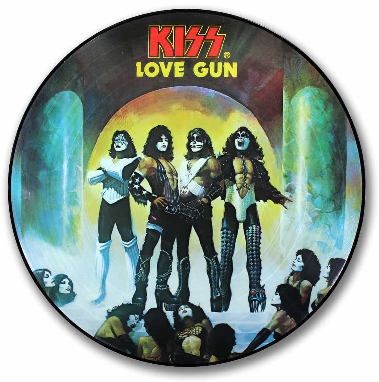 Kiss, Love Gun Picture Disc