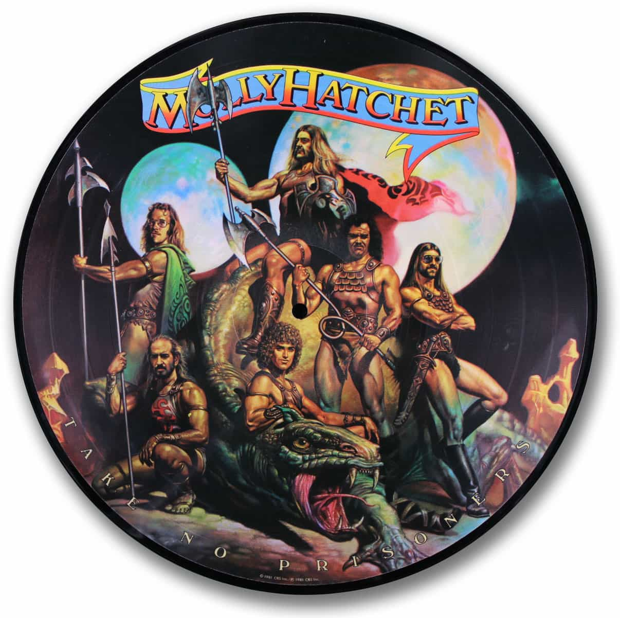 Molly Hatchet - Take No Prisoners picture disc