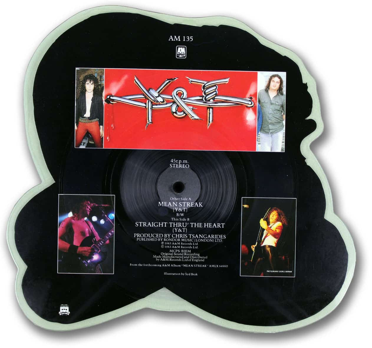 Y&T Mean Streak Picture Disc