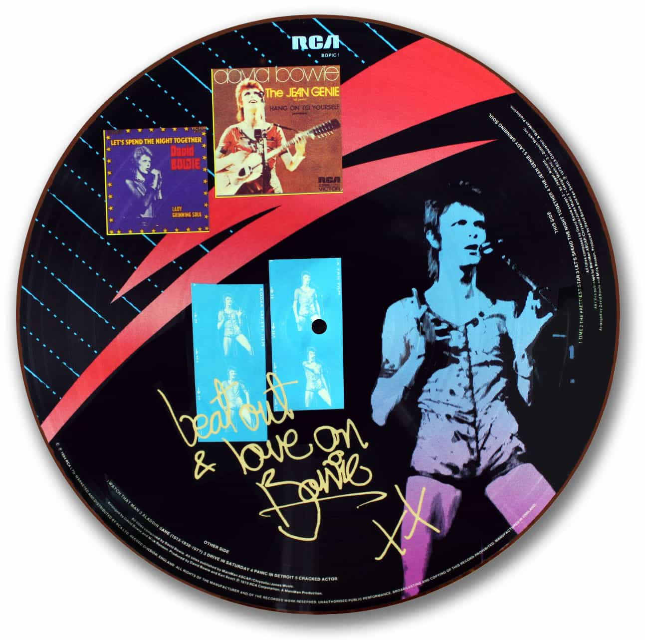 David Bowie, Aladdin Sane Picture Disc