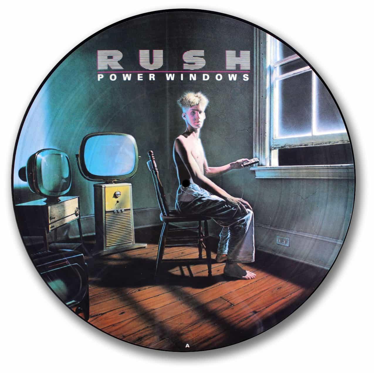 Rush Power Windows The Vinyl Underground