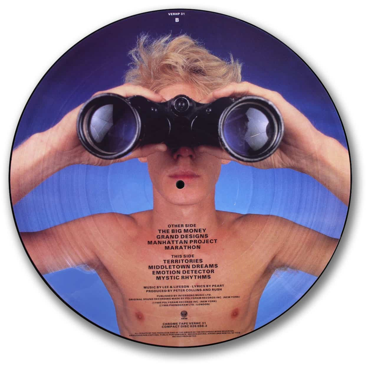 Rush, Power Windows Picture Disc