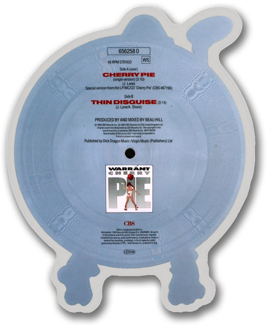 Warrant, Cherry Pie Picture Disc
