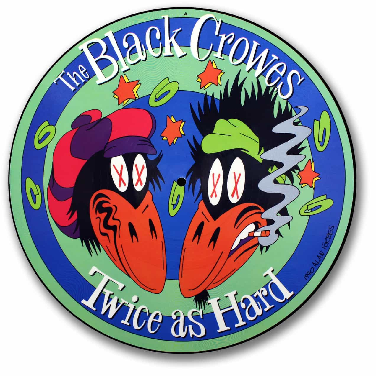 The Black Crowes, Twice as Hard Picture Disc