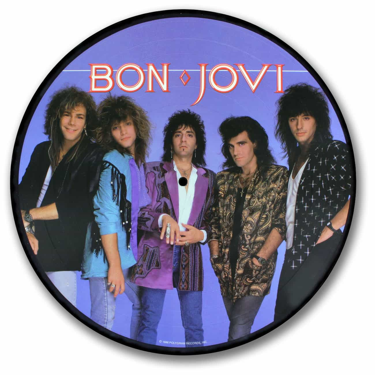 Bon Jovi, Slippery When Wet Picture Disc