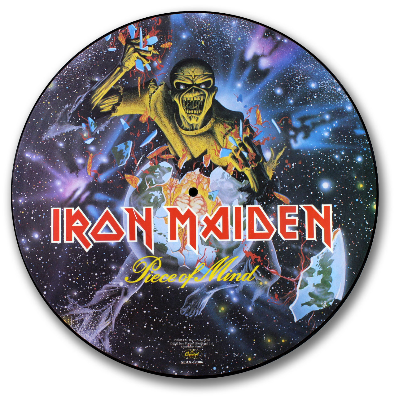 Iron Maiden, Piece of Mind Picture Disc