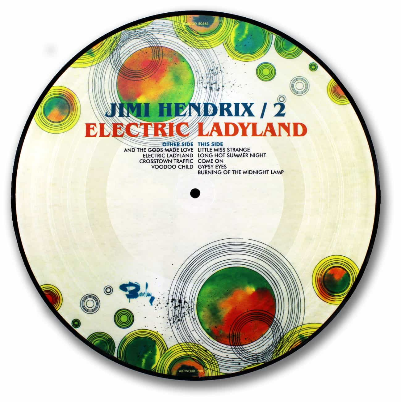 Jimi Hendrix - Electric Ladyland Picture Disc
