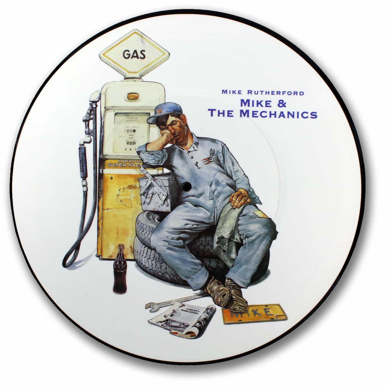 Mike Rutherford, Mike and the Mechanics Picture Disc