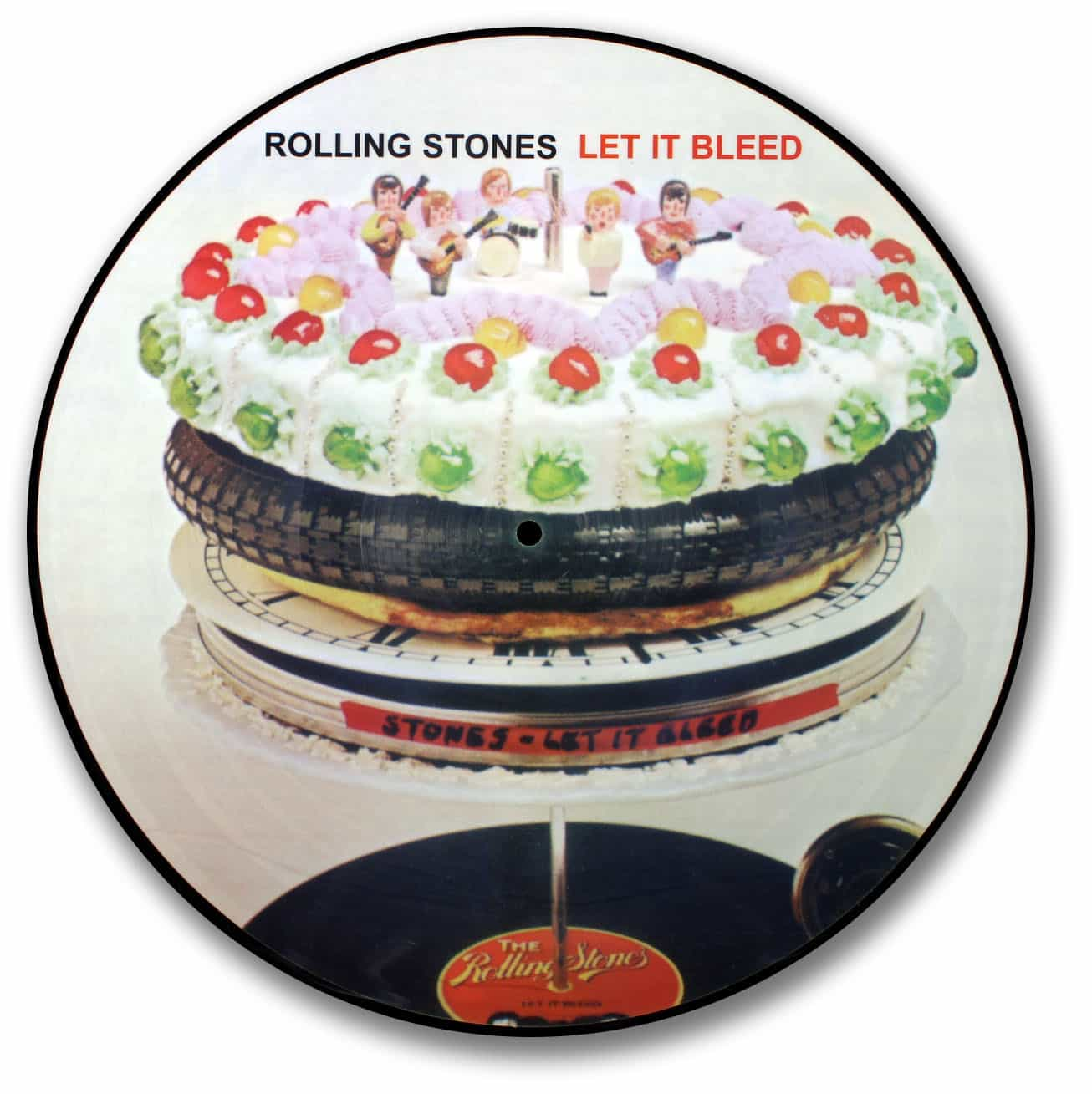 the Rolling Stones, Let it Bleed Picture Disc