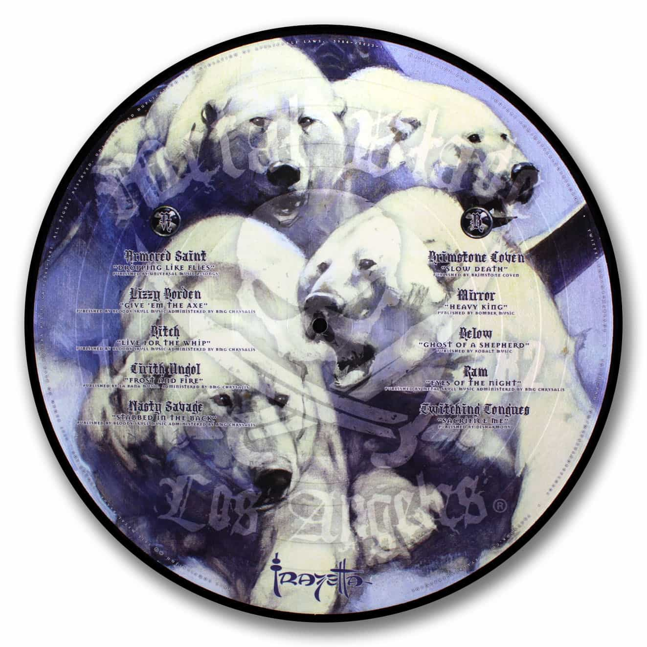 Frazetta, Various Artists Picture Disc