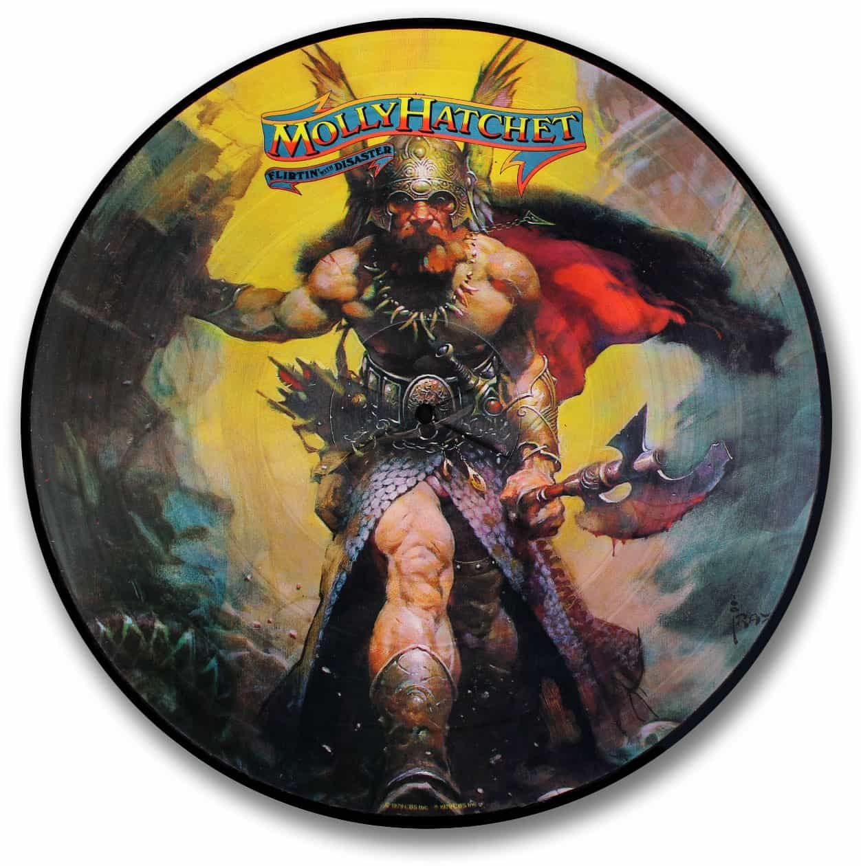 Molly Hatchet, Flirtin' with Disaster Picture Disc