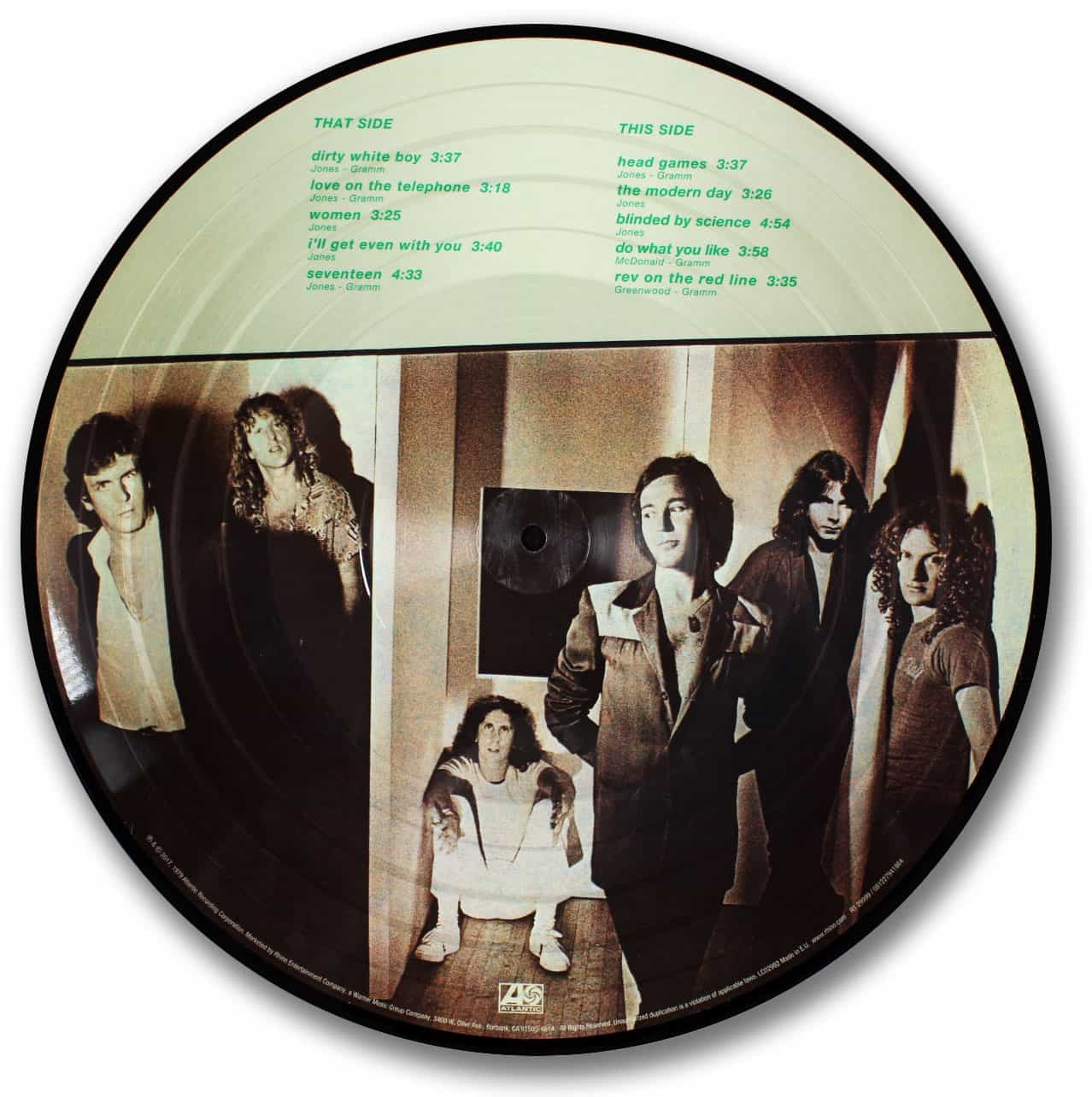 Foreigner, Head Games Picture Disc