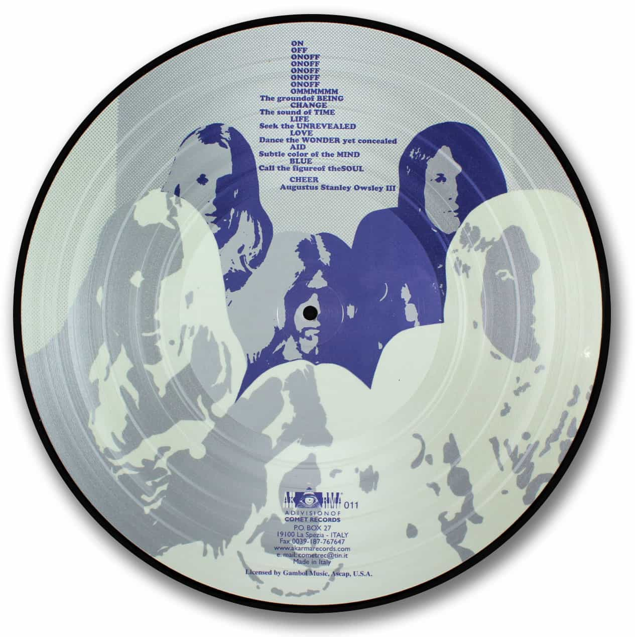 Blue Cheer, Vincebus Eruptum Picture Disc