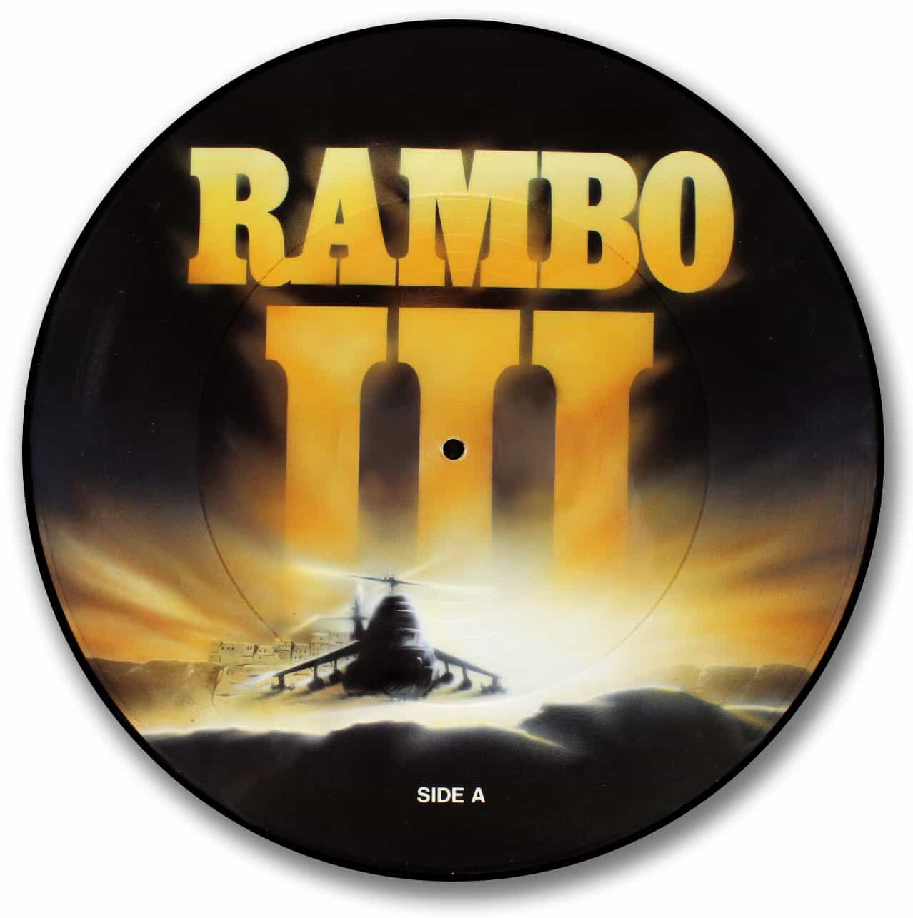 Rambo 3 Picture Disc