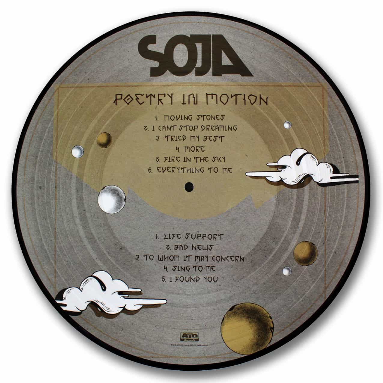Soja, Poetry in Motion Picture Disc