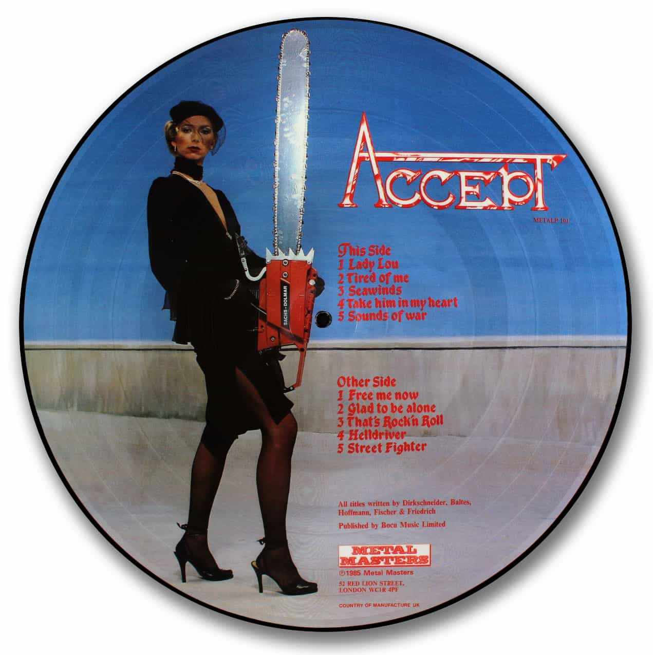 Accept, Accept Picture Disc
