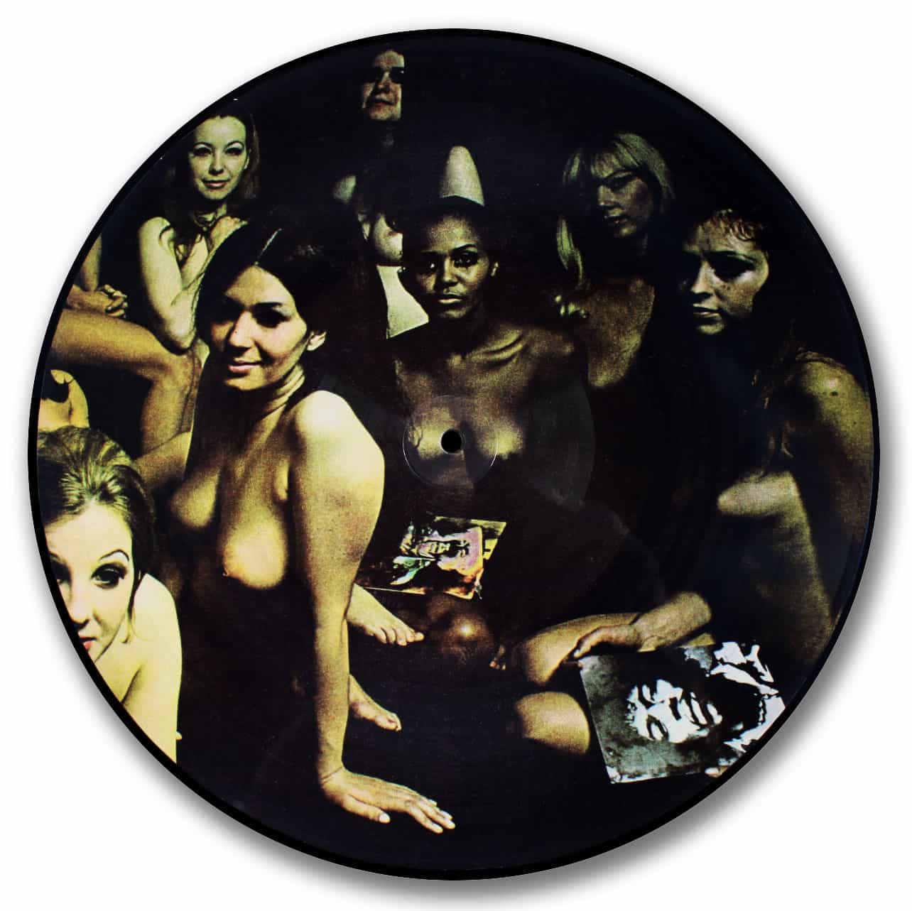 Jimi Hendrix Experience - Electric Ladyland (back cover ... |Electric Ladyland Album Cover