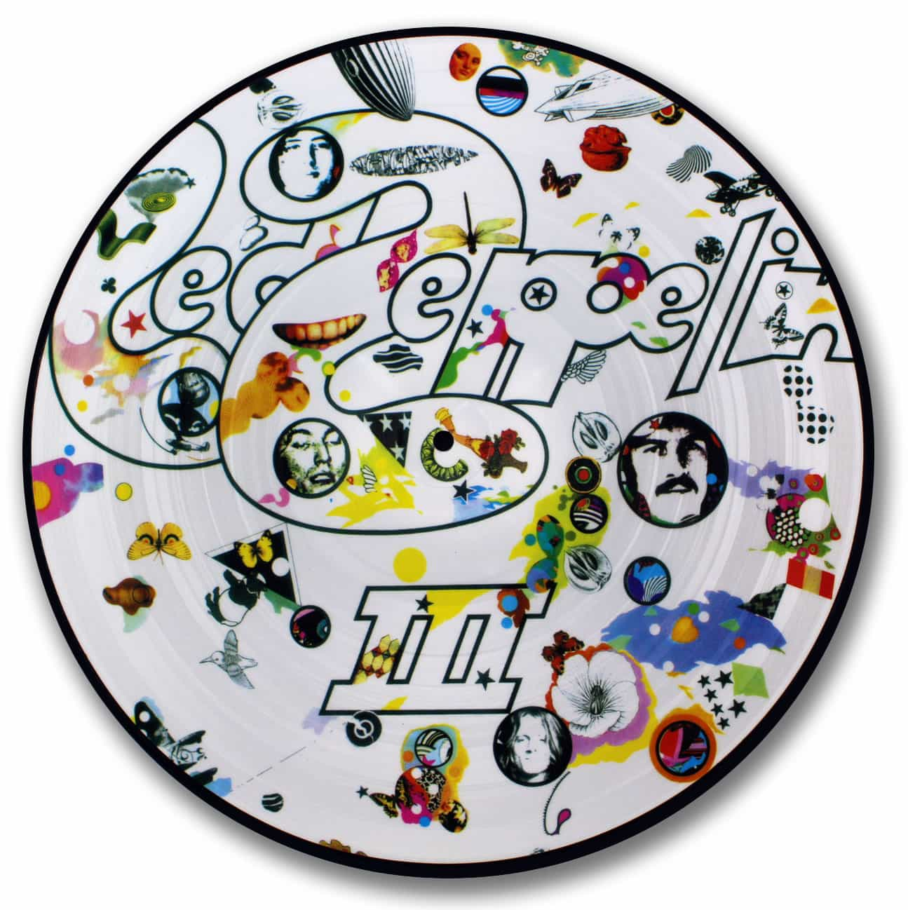 Led Zeppelin, 3, Picture Disc