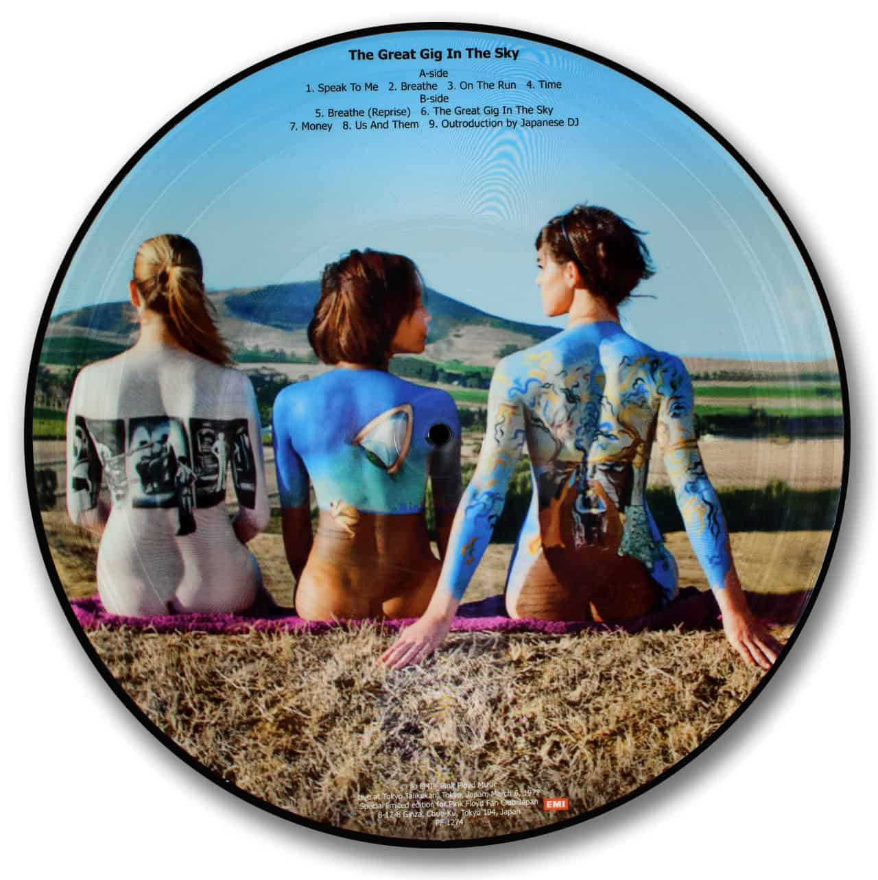 Pink Floyd, The Great Gig in the Sky Picture Disc