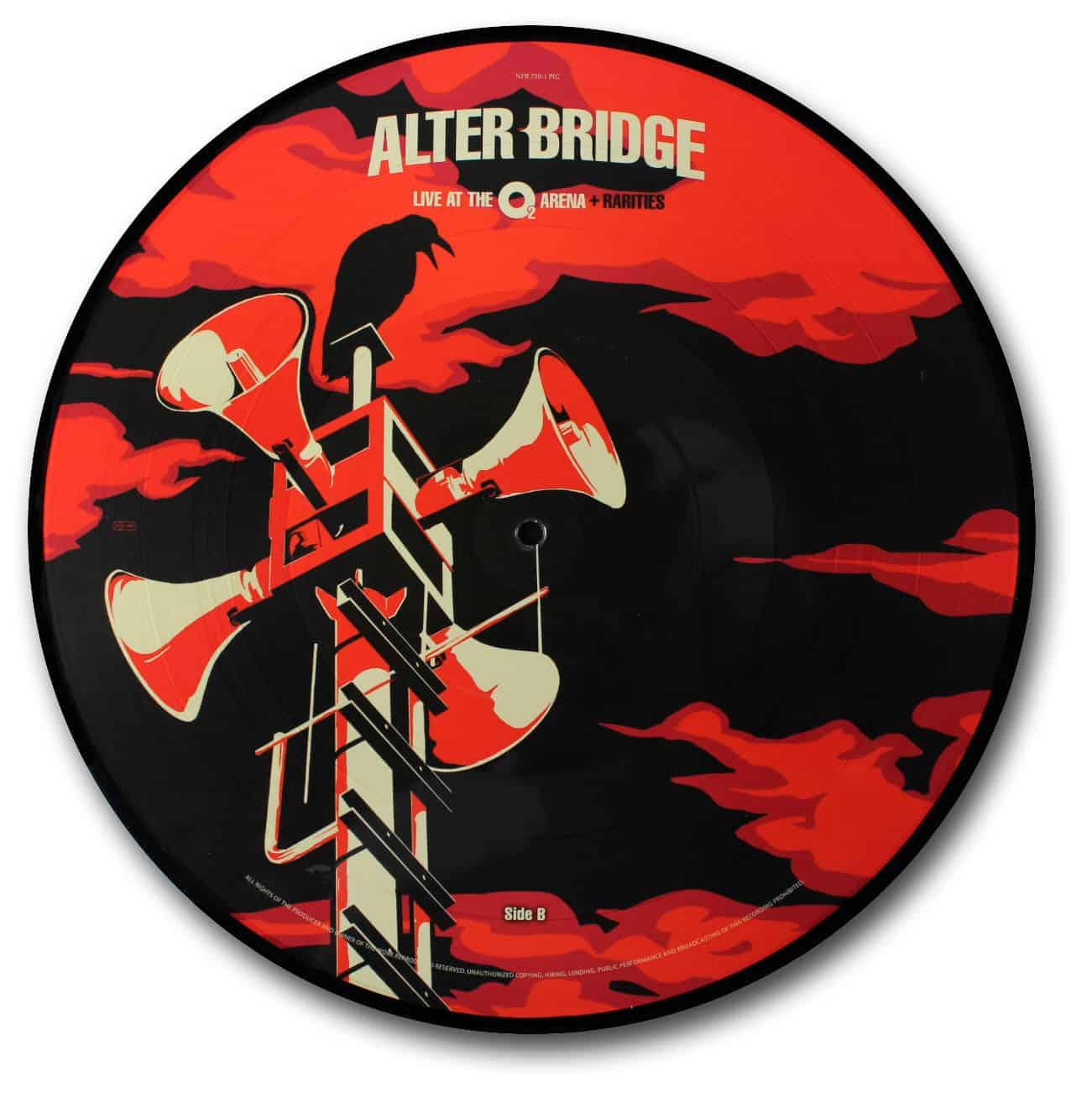 Alter Bridge, Live at the O2 Arena Picture Disc