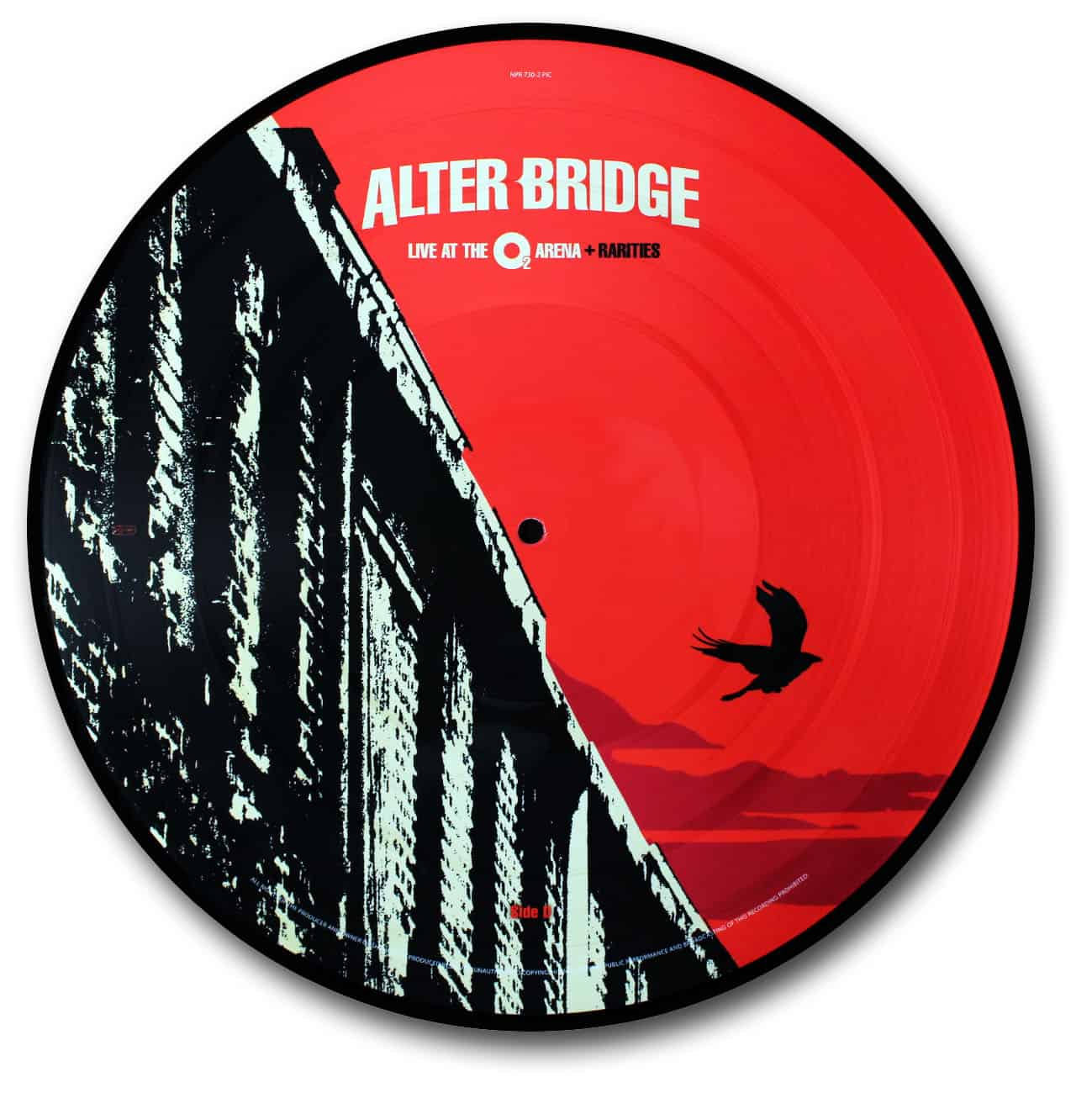 Alter Bridge, Live at the O2 Arena Picture Disc