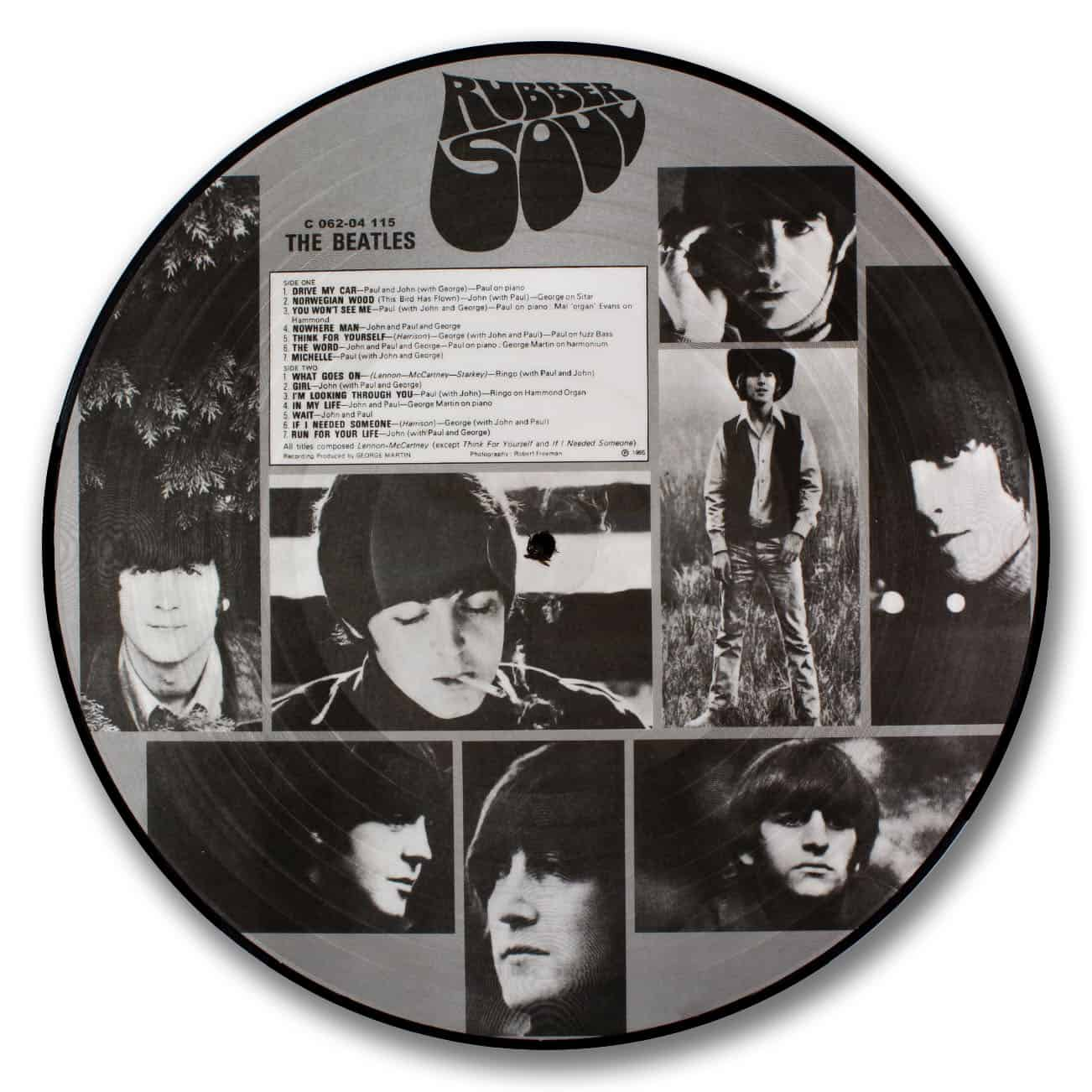 The Beatles, Rubber Soul Picture Disc