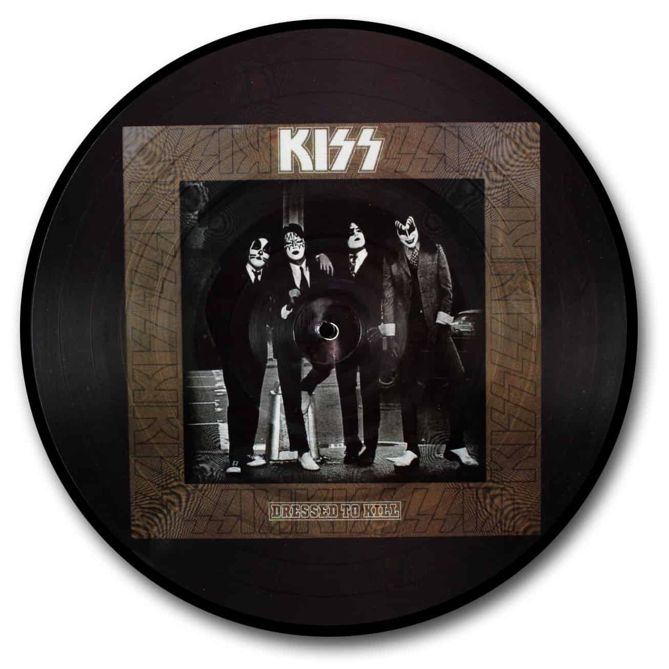 Kiss, Dressed to Kill Picture Disc
