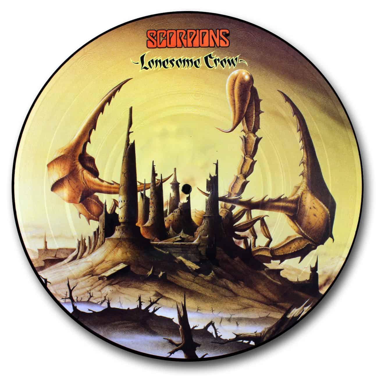 Scorpions Lonesome Crow The Vinyl Underground